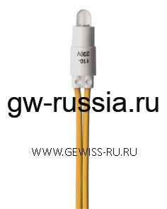 Лампа для подсветки 230V, желтый CHORUS 1
