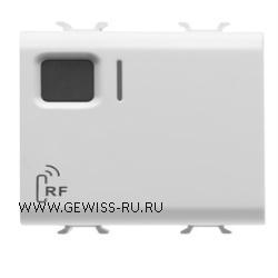 Активирующее устройство, радиошина, 1 канал, 16А, 2модуля, белый CHORUS 1