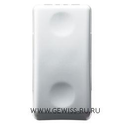 Кнопка 1P NO 10A, System, белый 1