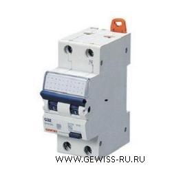 Автоматический выключатель дифференциального тока, MDC 100, 10 А, 2P, 2 модуля, 30 мА, 10кА, характеристика С, тип AС 1