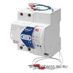 ReStart Rm PRO, MDC 60, 25 A, 2P, 4 модуля, 30 мА, 6кА, тип А 1