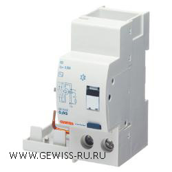 Стыкуемое устройство токовой защиты (EN 61009-1 прил. G), BD (для МТ), 2Р, 2 мод, Вх