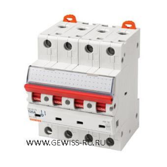Выключатели-разъединители, 2Р, 80А  1
