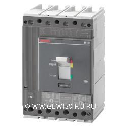 Автоматический выключатель в литом корпусе для систем распределения электроэнергии, MTX/E 320, SEP/1, I, 3P, 100A, L(120kA)  1