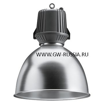 GW83501_Светильник HALLE без электропроводки 400Вт Е40, серый графит