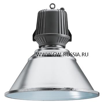 GW83508_Светильник HALLE без электропроводки 400Вт Е40, серый графит