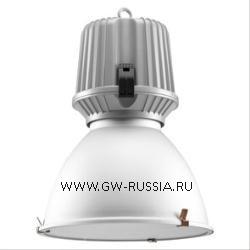 GW83742_Mini-HALLE Светильник в необорудованном исполнении 42Вт GX24q-3/GX24q-4, алюминий