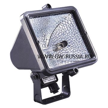 GW84202_Прожектор IP55, Класс I, 1000Вт HD R7s 4.3A, серый титан