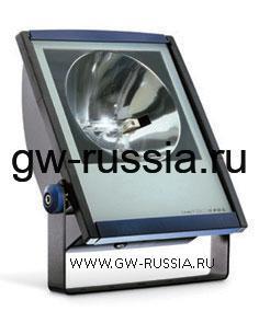 GW85095_Прожектор без электропроводки, одобрен для спорт.объектов, 150Вт RX7s 445х335х138