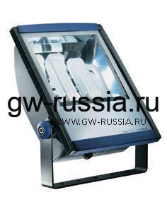 GW85097_Прожектор без электропроводки, одобрен для спорт.объектов, двойная изоляция, 2х24Вт GX24q-4 445х335х138