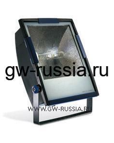 GW85191_Прожектор без электропроводки, одобрен для спорт.объектов, двойная изоляция, 400Вт E40 630х453х200