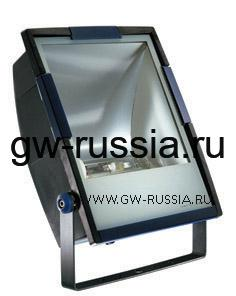 GW85292_Прожектор без электропроводки, одобрен для спорт.объектов, двойная изоляция, 400Вт E40 630х453х200