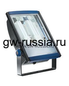 GW85392_Прожектор без электропроводки, одобрен для спорт.объектов, двойная изоляция, 2х18Вт G24d-2 350х250х126