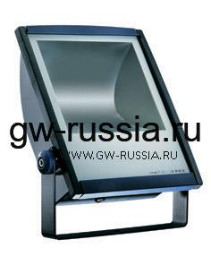 GW85393_Прожектор без электропроводки, одобрен для спорт.объектов, двойная изоляция, 70Вт 350х250х126