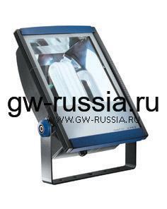 GW85396_Прожектор без электропроводки, одобрен для спорт.объектов, двойная изоляция, 24Вт GX24q-4 350х250х126