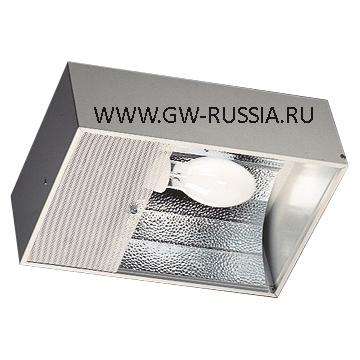 GW85931_FRIBAY Рефлектор 400Вт Е40, серый RAL 7035