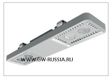 GWL1041_Светильник Smart [4] Lowbay потолочный 2+2 Led 62W (экв. 2х58W FD) оптика рассеивающ. 100°