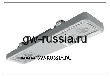 GWL1043_Светильник Smart [4] Lowbay потолочный 2+2 Led 62W (экв. 2х58W FD) оптика узк. 30°