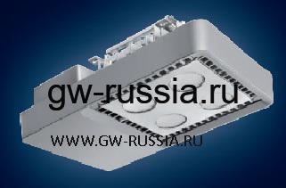 GWL1071_Светильник Smart [4] Lowbay потолочный 4 Led 62W (экв. 2х58W FD) оптика рассеивающ. 100°