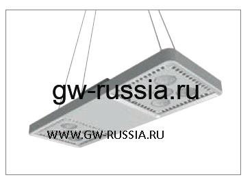 GWL1372_Светильник Smart [4] Highbay подвесной 4+4 Led 248W (экв. 400W ME) оптика средн. 60°