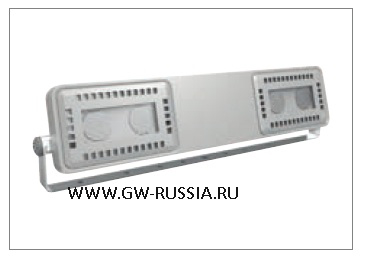 GWL1642_Прожектор Smart [4] Floodlight 2+2 Led 62W (экв. 70W MH) оптика узк. 30°