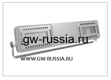 GWL1643_Прожектор Smart [4] Floodlight 2+2 Led 62W (экв. 70W MH) оптика средн. 60°