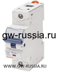 Модульный автоматический выключатель серии Compact, MTHP160, 100 А, 1P, 1,5 модуля, 10кА, характеристика C