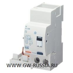 Стыкуемое устройство токовой защиты (EN 61009-1 прил. G), BD (для МТ), 2Р, 2 мод, 30мА, тип А [IR]