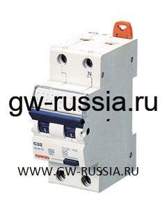 Автоматический выключатель дифференциального тока, MDC 100, 10 А, 2P, 2 модуля, 30 мА, 10кА, характеристика В, тип A [IR]
