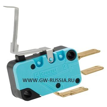Вспомогательный контакт, 2 переключения, использовать с MSS 125 Трехпозиционный переключатель