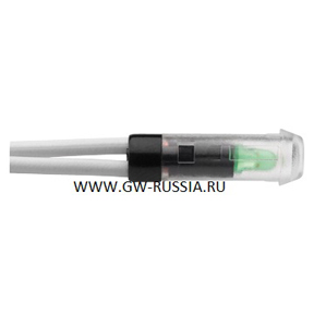 Устройство сигнализации для проверки цепи аварийной защиты со светодиодом, 12-24В перем./пост. тока, излучаемый цвет зеленый