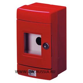 Герметичный щит для аварийных систем с диам. 22 мм, красный
