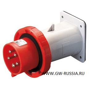 Вилка накладного монтажа, прямая IP67-50/60Гц, 32А, 2Р+Е ...: http://gw-russia.ru/all/gw60237/