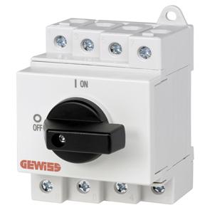 Выключатель-разъединитель, 4P, 3,5 мод