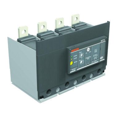 Стыкуемое устройство токовой защиты нулевой последовательности, нижнее расположение, для МТХ400-МТХ/Е/М 630, для 4-х полюсных выключателей, регулируемый, до 500А