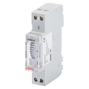 Суточный аналоговый таймер-выключатель без резерва эксплуатации, 1 мод