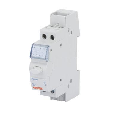 Нажимные кнопки, 1 мод, 1 обычно открыт-1 обычно закрыт, 250В переменного тока