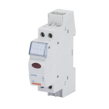 Сигнальная лампа, 12-24-48В переменного/постоянного тока, 1 мод, светодиод- белый