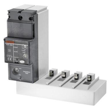 """Стыкуемое устройство токовой защиты нулевой последовательности, """"L""""- образный, для МТХ/М 160с, для 4-х полюсных выключателей, пониженный"""