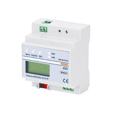 ASTRID - LED - ШЛЮЗ KNX/DALI 64/16 IP - НА РЕЙКУ DIN 110-240В АС - 50/60Гц, 100мА