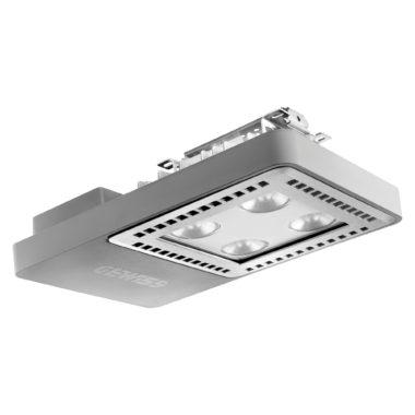 SMART [4] 2.1 HLO - 4L - ПОТОЛОЧНЫЕ LED ПРОЖЕКТОРЫ - IP66 Рассеивающая оптика 100° 4000K (CRI 80) 58Вт 6000Lm Серый RAL7037 Независимый