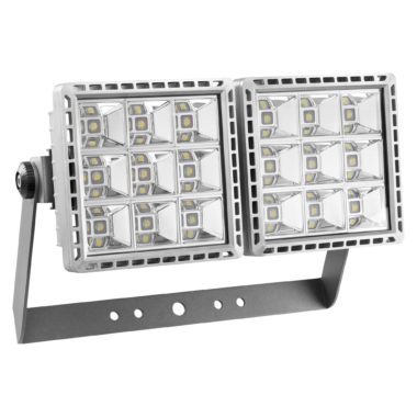 SMART[PRO] - ПРОЖЕКТОР - LED - Концентрирующая асимметричная оптика 2 (2x9 LED) 4000K (CRI 70) 340Вт 28330Lm