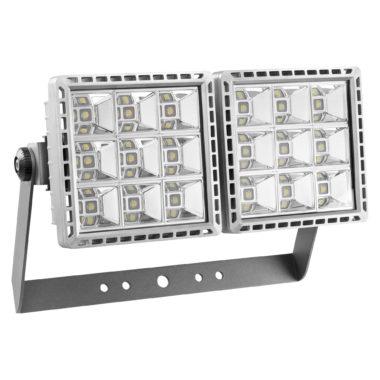 SMART[PRO] - ПРОЖЕКТОР - LED - Диффузная асимметричная оптика 2 (2x9 LED) 5700K (CRI 70) 340Вт 33110Lm