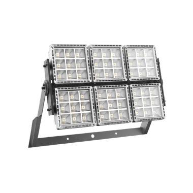 SMART[PRO] - ПРОЖЕКТОР - LED - Диффузная асимметричная оптика 6 (6x9 LED) 4000K (CRI 70) 1020Вт 92350Lm