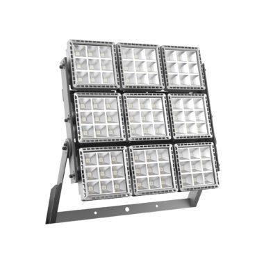 SMART[PRO] - ПРОЖЕКТОР - LED - Диффузная асимметричная оптика 9 (9x9 LED) 5700K (CRI 70) 1110Вт 123370Lm